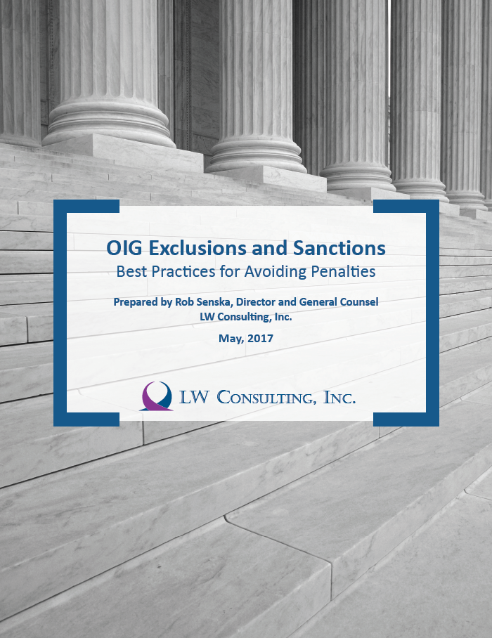 OIG Exclusions and Sanctions