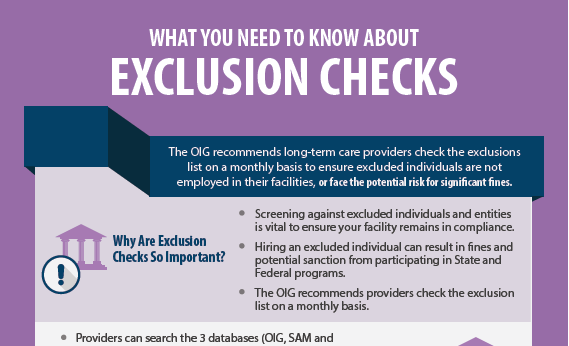 What You Need to Know About Exclusion Checks