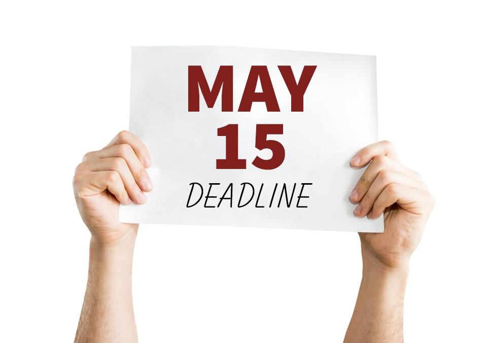 May 15 PBJ Deadline is Fast Approaching: Don't Miss It